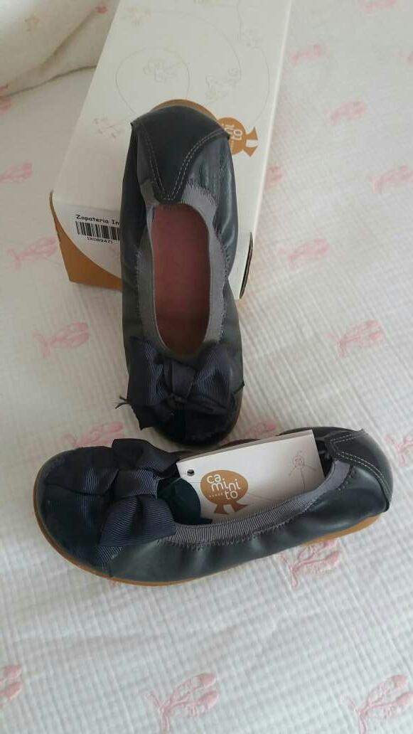 Imagen Zapatos Niña en piel