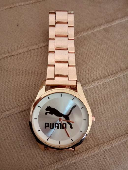 Imagen reloj Puma color oro rosado