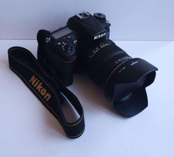 Imagen producto Nikon D7200 + Sigma 17-50 1