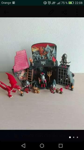 Imagen producto Castillo del dragon Playmovil 1