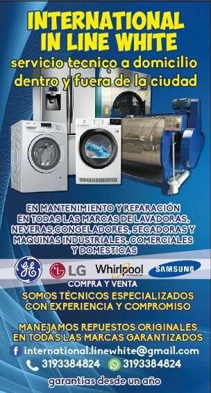 Imagen Servicio tecnico a domicilio de lavadoras, secadoras, neveras y congeladores. Industriales comerciales y domesticos.
