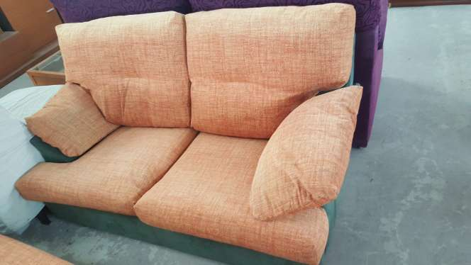 Imagen sofá con cogines