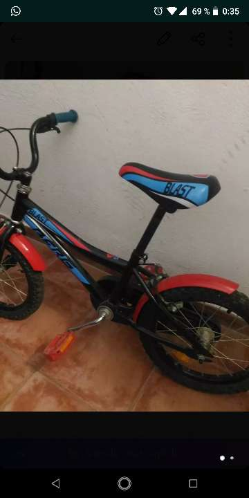 Imagen bicicleta de niñ@