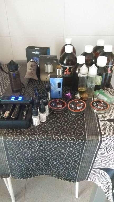 Imagen vapeo kit:mod,RDA,rdta,líquidos...