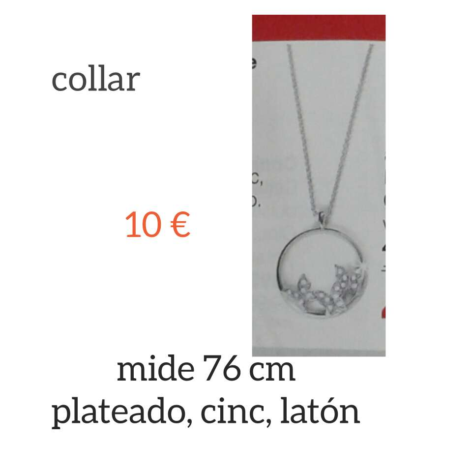 Imagen producto Conjunto de collar y pendientes 3