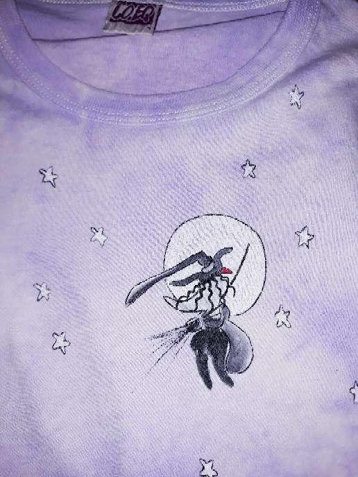 Imagen producto Camiseta bruja, 4 años.  2