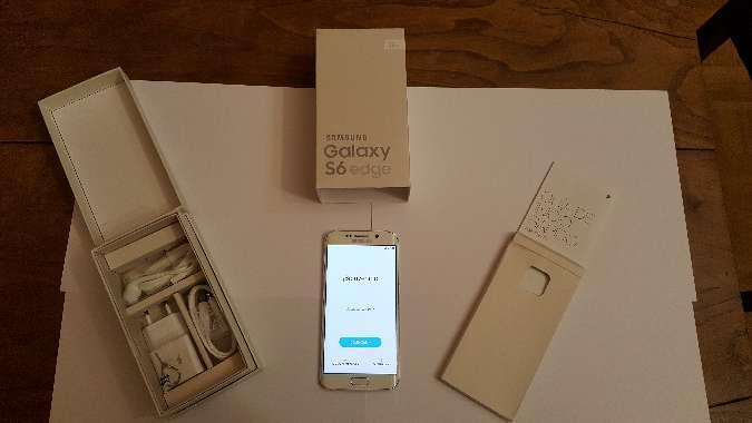 Imagen producto Samsung Galaxy S6 Edge nuevo sin estrenar 1
