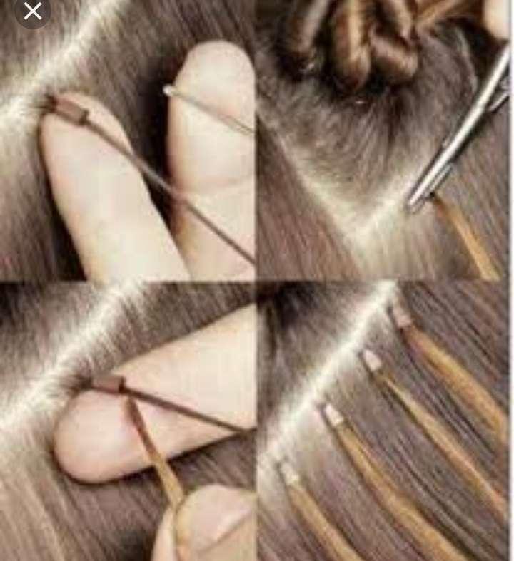 Imagen producto Colocacion de extensiónes de pelo  2