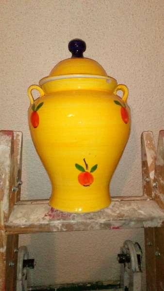 Imagen producto Jarrón amarillo 2