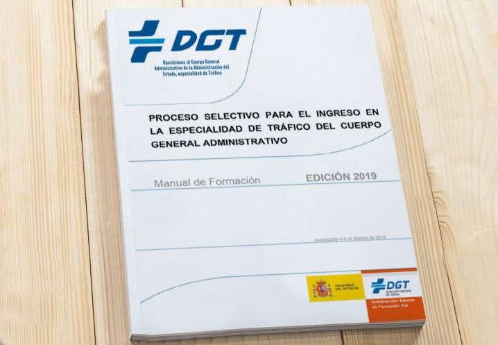 Imagen Temario Administrativo del Estado, especialidad Tráfico 2019
