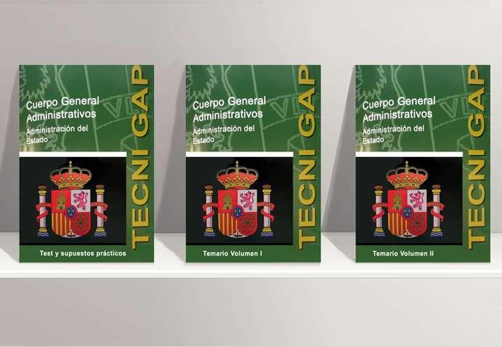 Imagen Libros Oposiciones Administrativo del Estado 2019