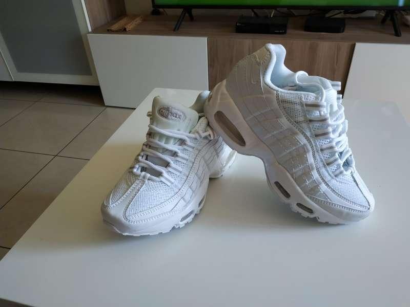 Imagen producto Nike Air Max 95 blancas 6