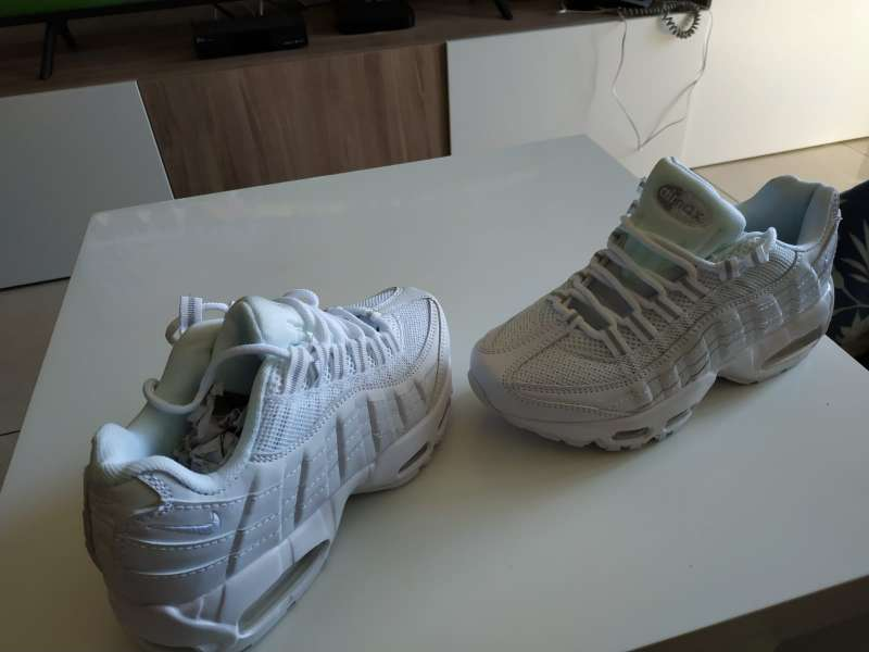 Imagen producto Nike Air Max 95 blancas 8