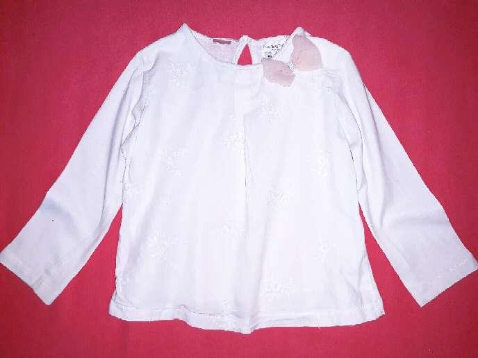 Imagen producto Blusa Zara, 2 años. Lazo.  2