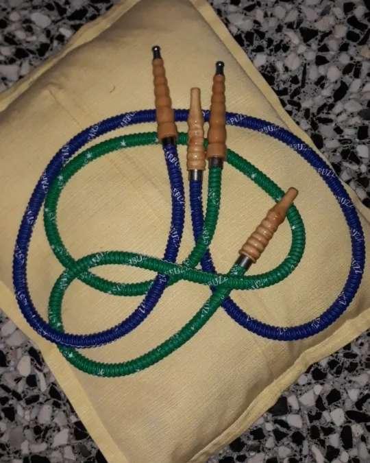 Imagen producto Cazoleta de cachimba con mangueras  2