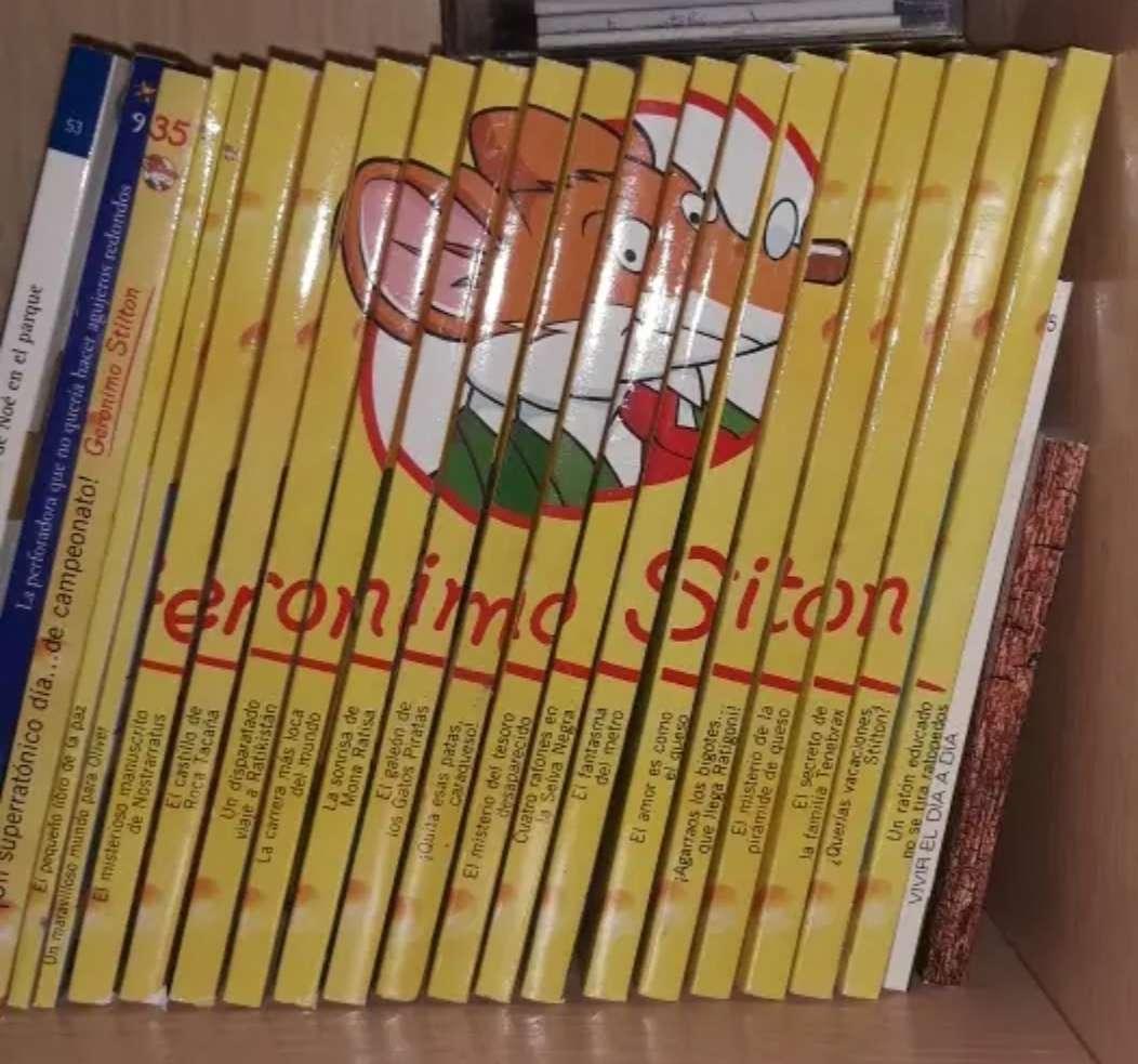 Imagen Colección de libros de Gerónimo Stilton