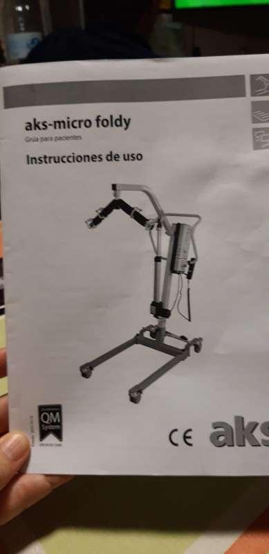 Imagen Grúa para pacientes de uso doméstico