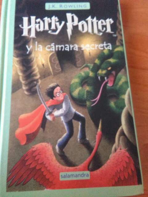 Imagen  Harry Potter y la camara secreta