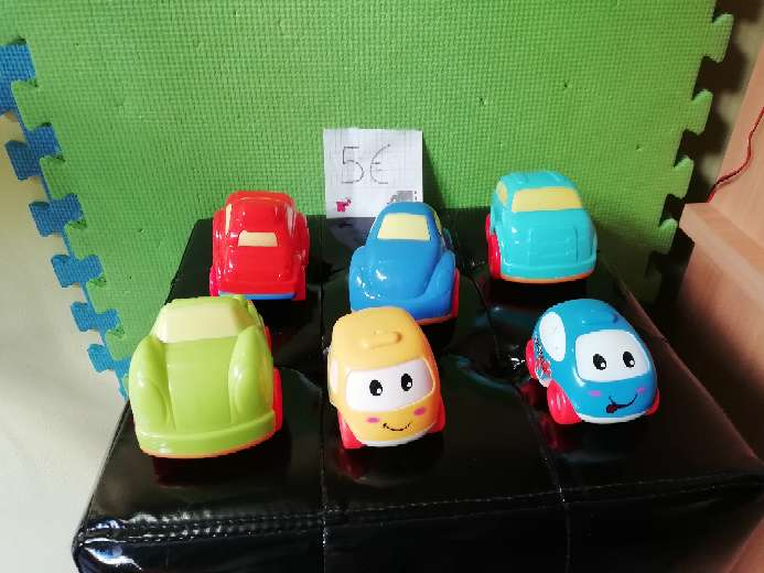 Imagen Lote 6 coches infantiles