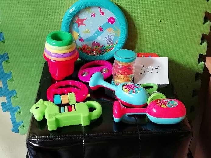 Imagen Lote instrumentos musicales para bebé