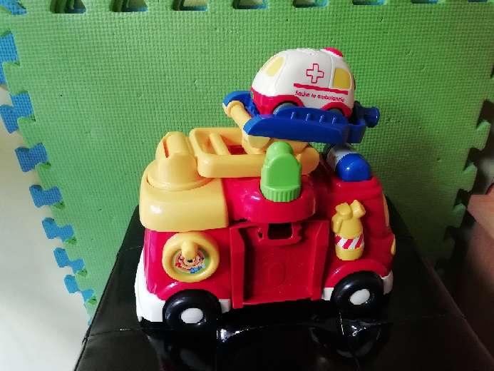 Imagen producto Camión de bomberos y ambulancia 2