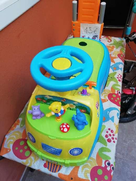 Imagen producto Correpasillos caminador verde y azul  2
