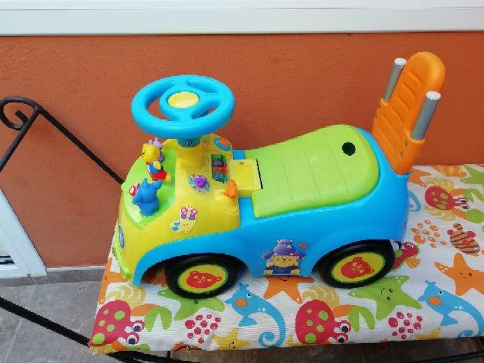 Imagen Correpasillos caminador verde y azul