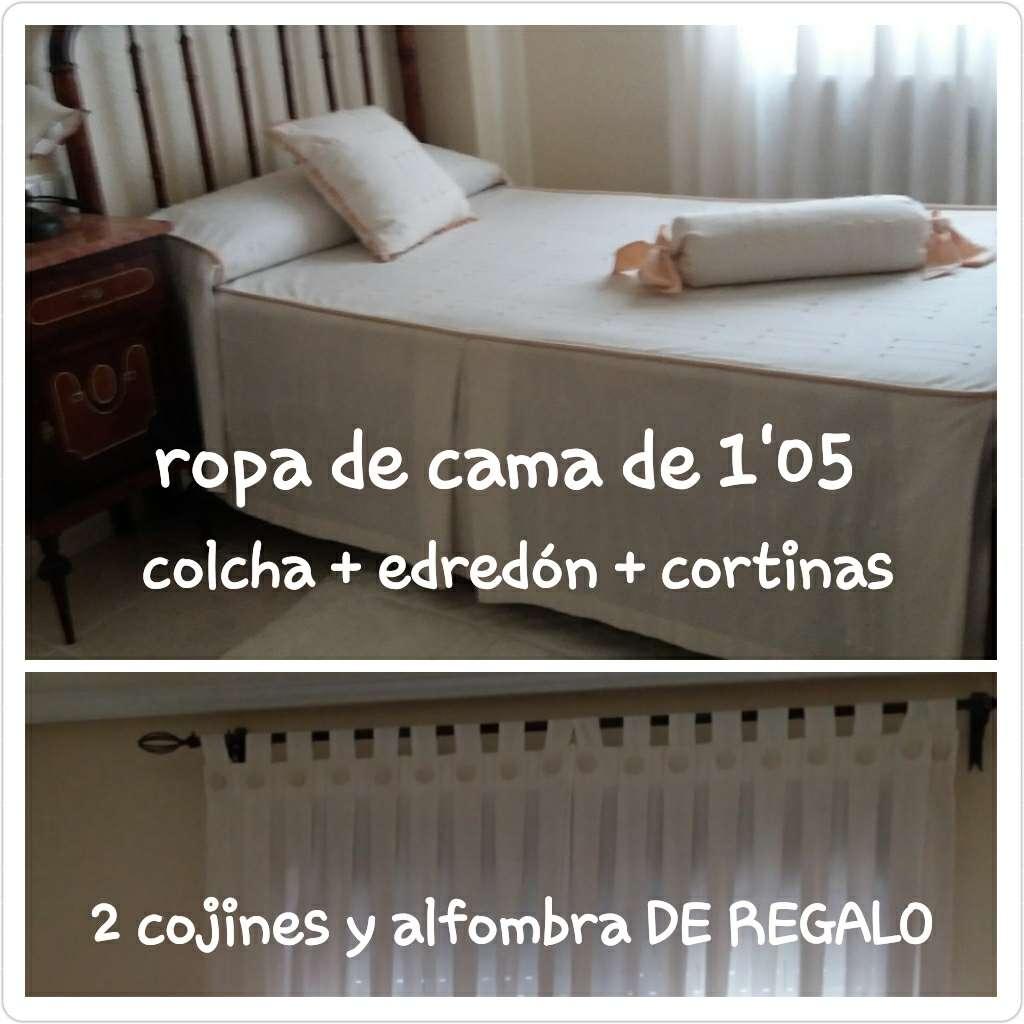Imagen Cortinas+Colcha+Edredón REGALO cojines y alfombra