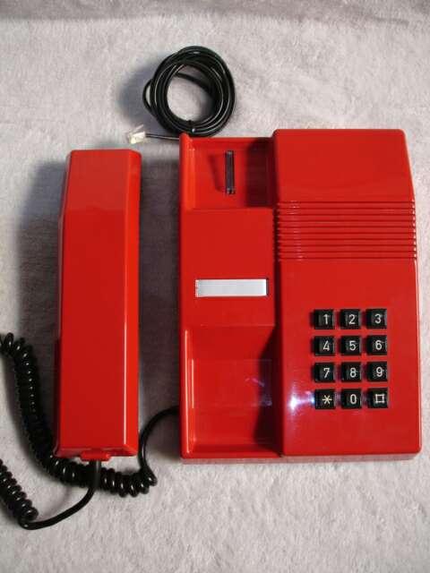 Imagen producto Teléfono vintage TEIDE ROJO 7