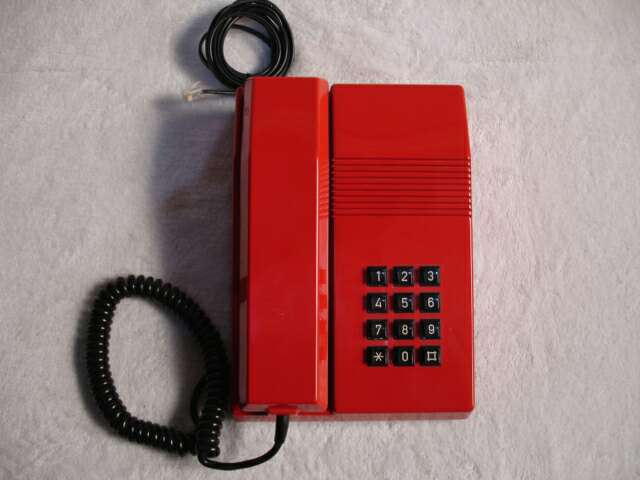 Imagen Teléfono vintage TEIDE ROJO