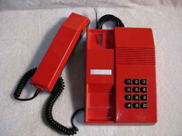 Imagen producto Teléfono vintage TEIDE ROJO 4