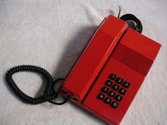 Imagen producto Teléfono vintage TEIDE ROJO 10