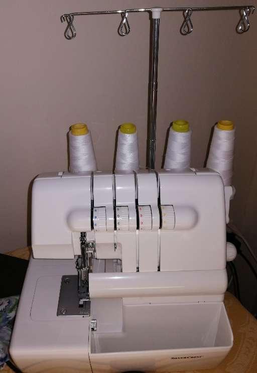 Imagen maquina de coser overlock