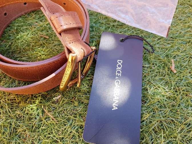 Imagen cinturón Dolce y Gabbana