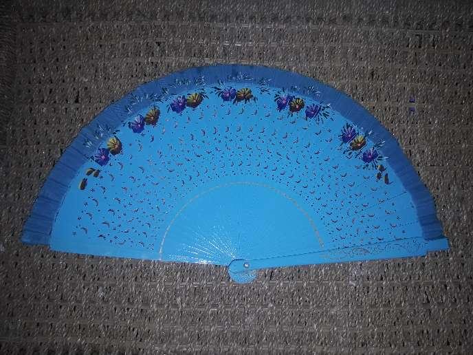 Imagen Abanico Azul