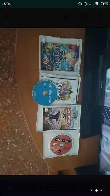 Imagen producto Wii con juegos 4