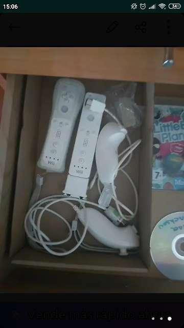 Imagen producto Wii con juegos 5