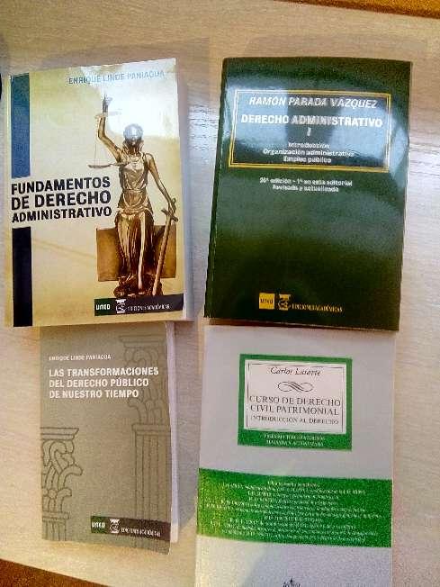 Imagen producto 4 libros de derecho derecho patrimonial de primer curso de ciencias jurídicas grado UNED 1
