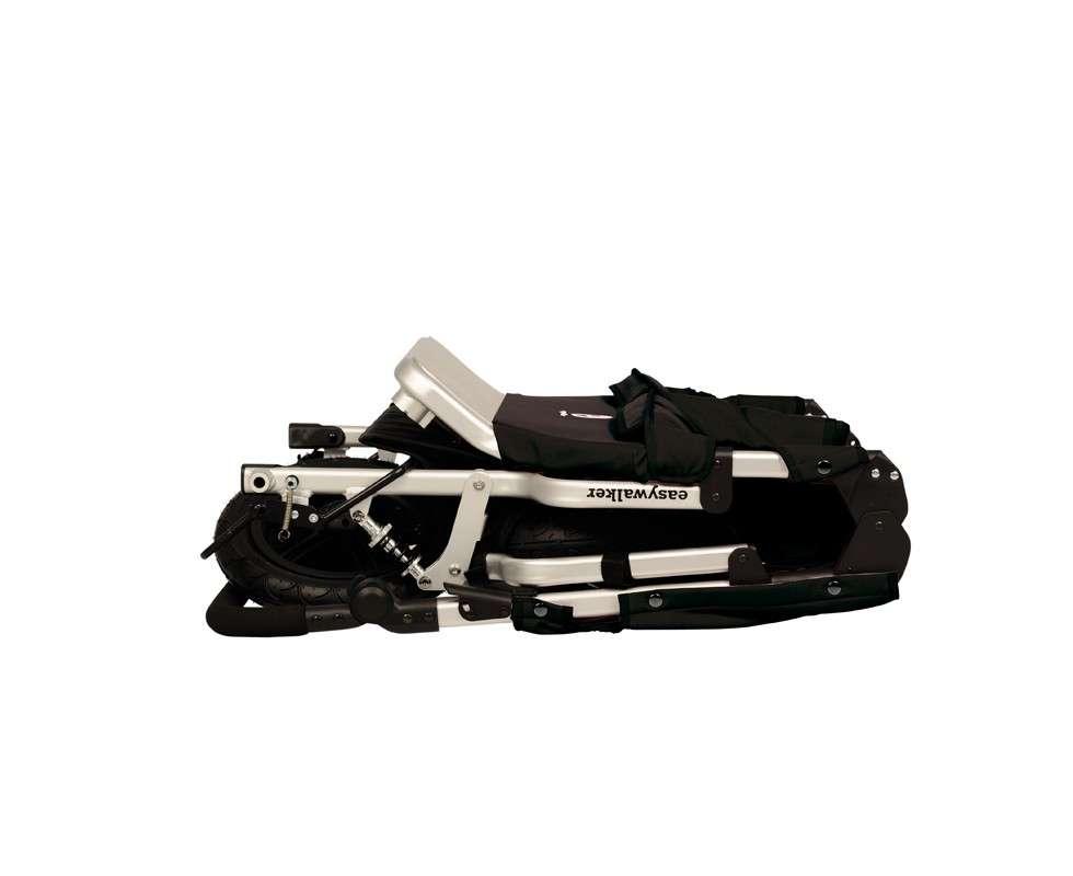 Imagen producto Silla gemelar Easywalker duo en color negro 2