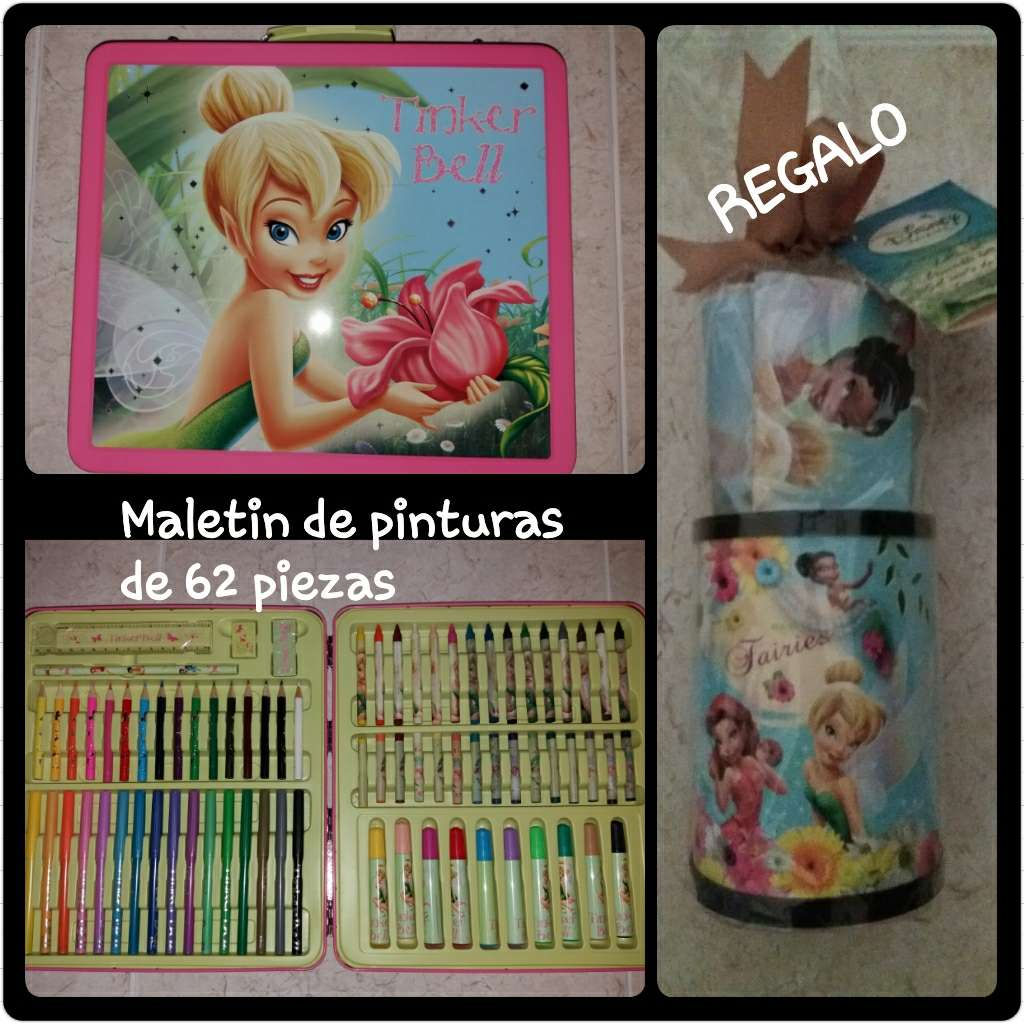 Imagen Maletin pinturas Disney CAMPANILLA
