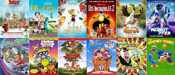 Imagen 12 películas de dibujos animados