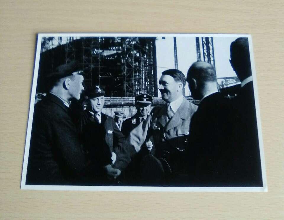 Imagen A. Hitler.Fotografía de la II MG.