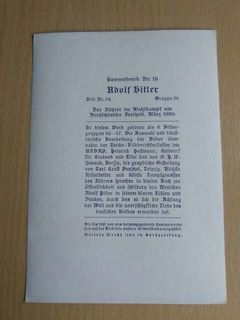 Imagen producto Fotografía de la II MG. Adolf Hitler. 2