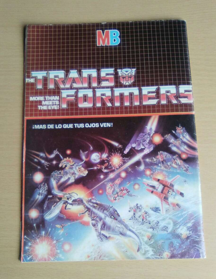 Imagen producto Comic Transformers #1 primera edición 1984. 2