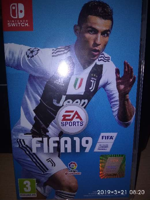 Imagen producto Fifa 2019 switch 1