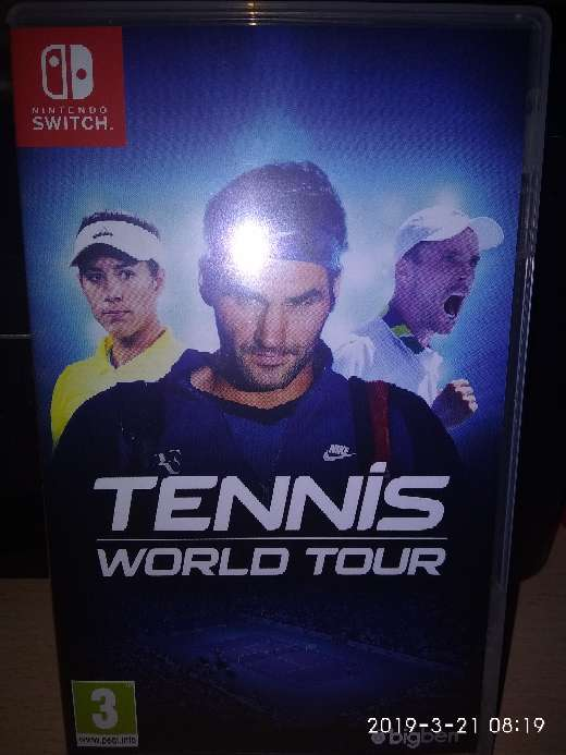Imagen Tennis world tour switch