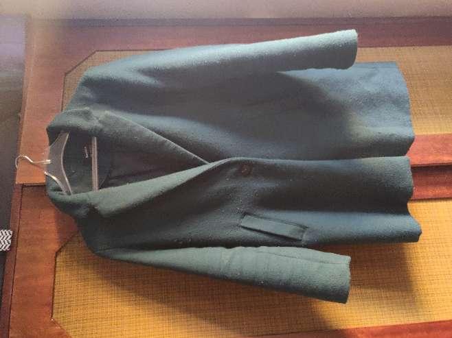 Imagen Abrigo largo verde