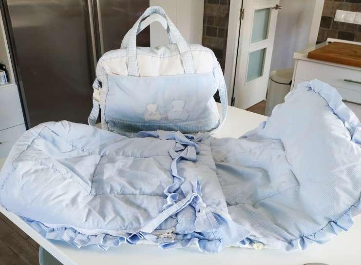 Imagen Bolso + Saco para carro de bebé
