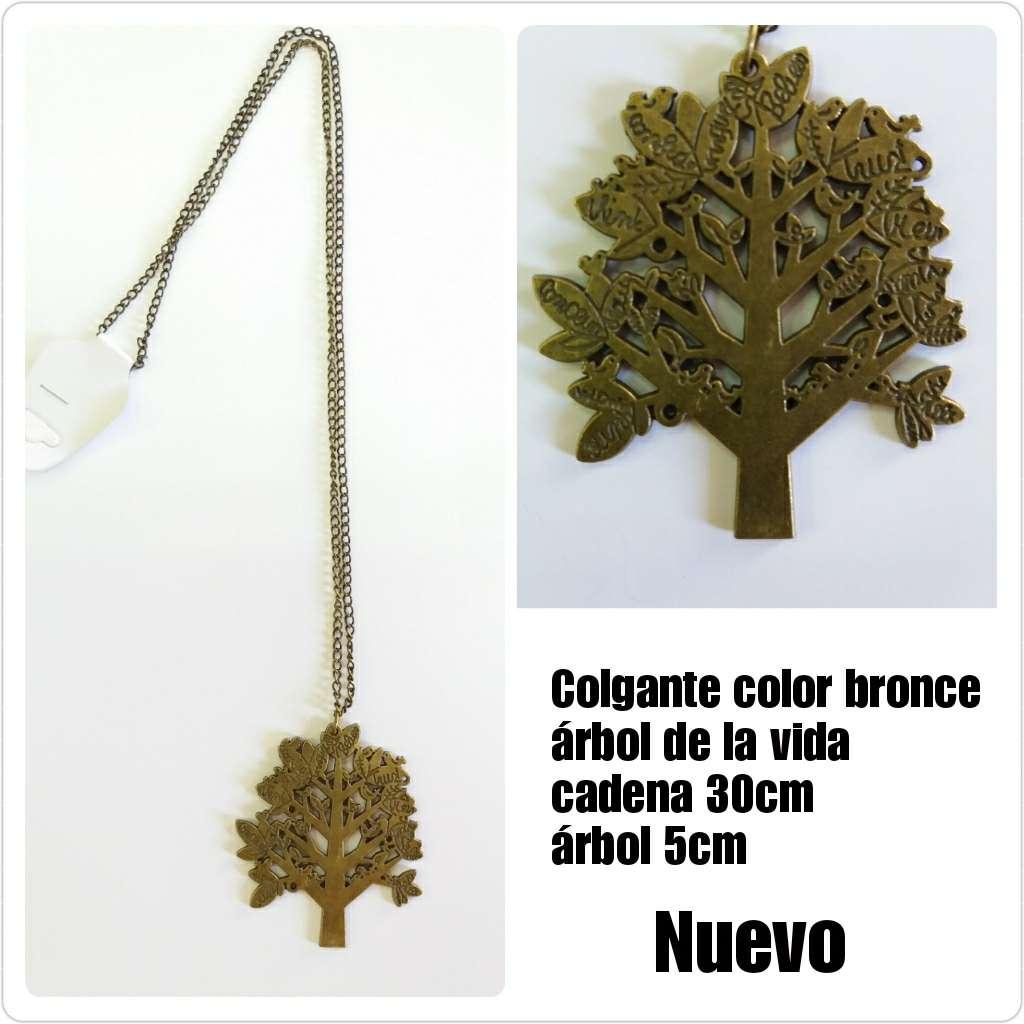 Imagen Colgante en bronce del árbol de la vida