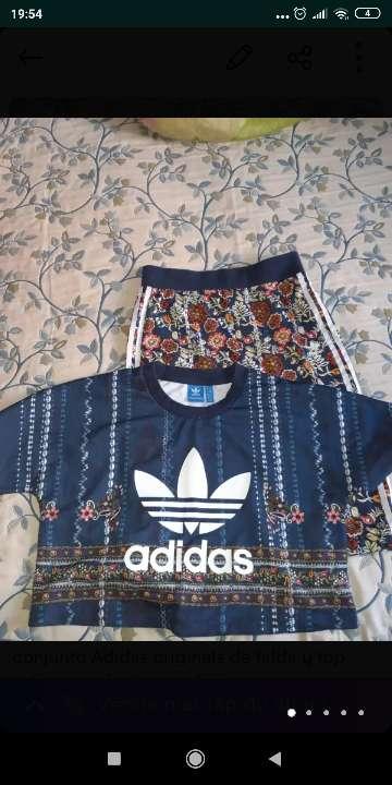 Imagen conjunto falda y top Adidas originals talla 36